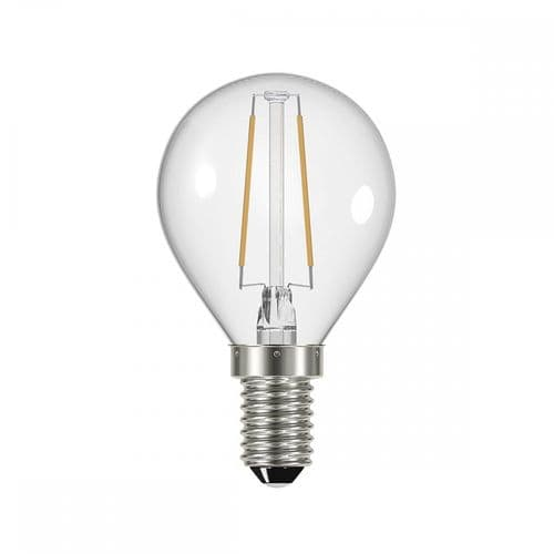 Dar Pack Of 5 E14 4w LED Dimmable Golf Ball Lamp